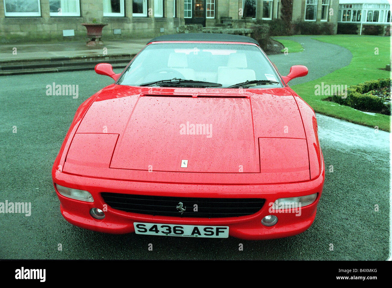 Ferrari Cars Lineup At The Gleneagles Hotel Pictured Is A 355 FI Spider