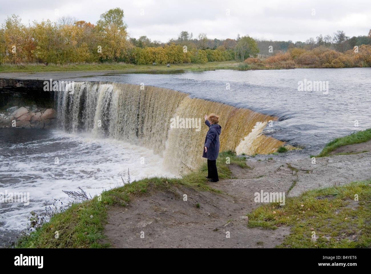 Jagala waterfall estonia lahemaa national park