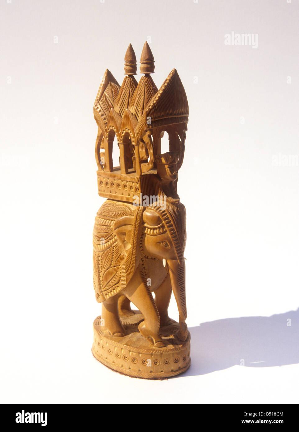 The state animal of karnataka the indian elephant elephas maximus indian crafts sandalwood carving of caparisoned elephant from mysore karnataka stock photo biocorpaavc Image collections