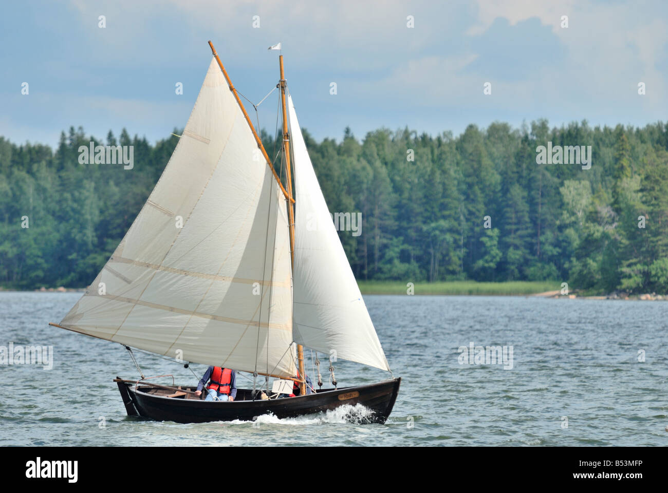 how to make a small wooden ship