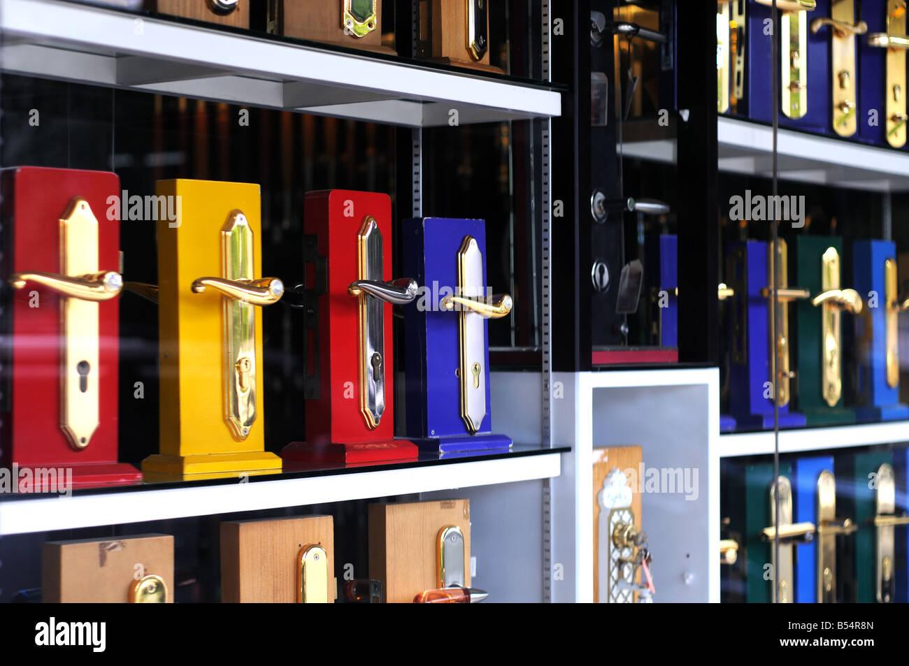 door handle shop nagoya batam riau islands indonesia Stock Photo ...