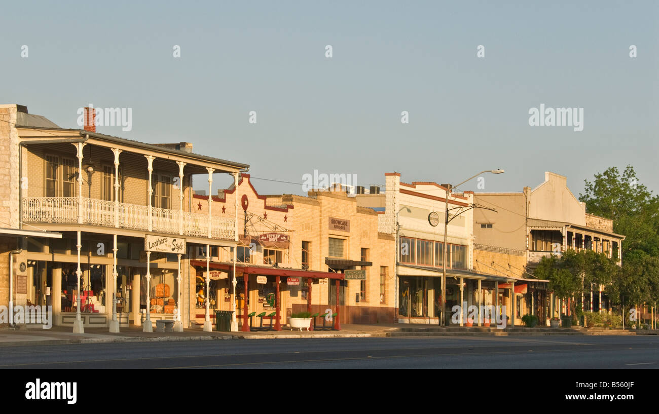 Restaurants On Main Street In Fredericksburg Texas