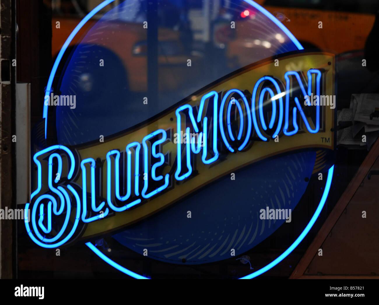 Blue Moon Neon | eBay
