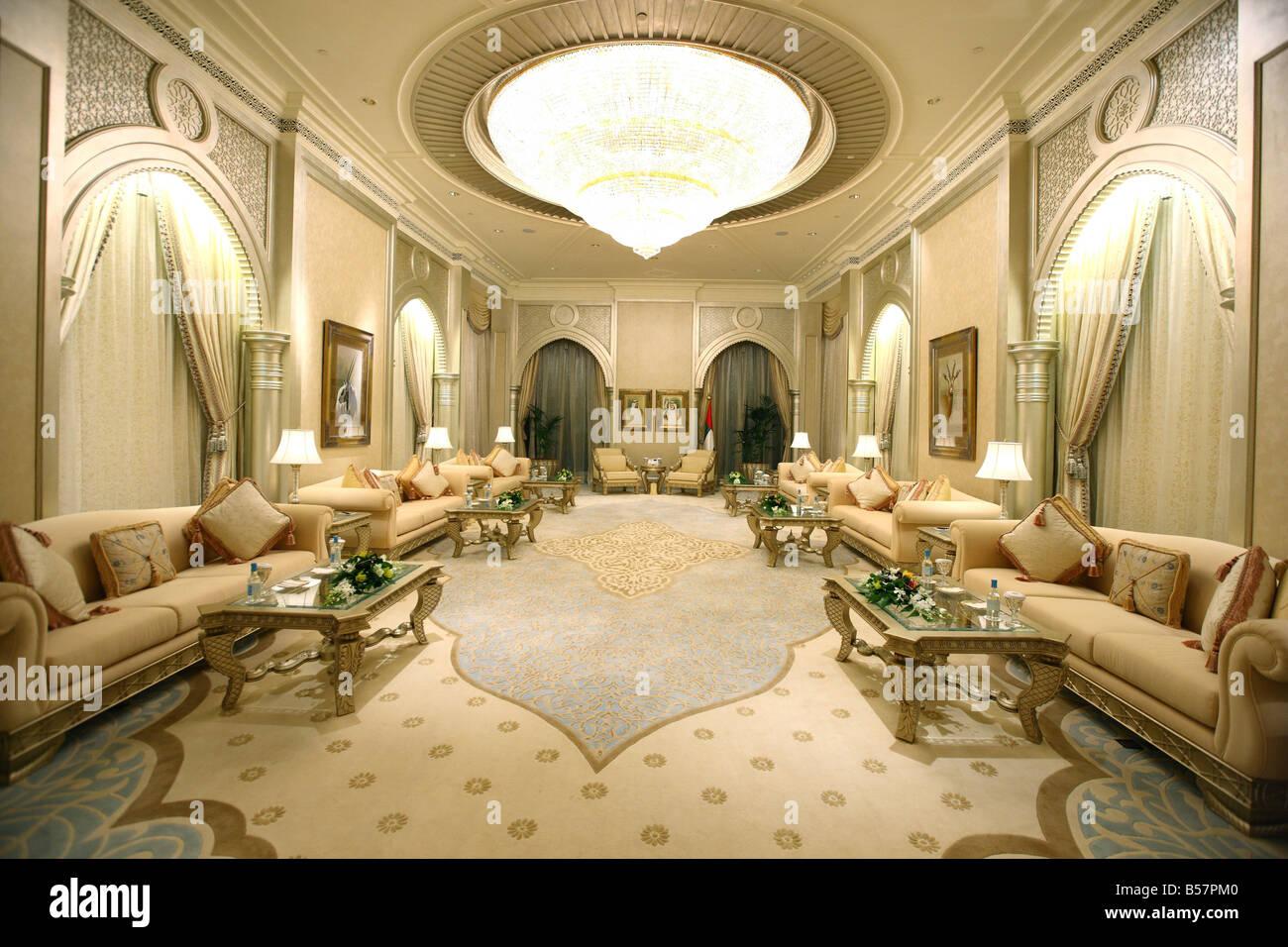 UAE Abu Dhabi Emirates Palace Hotel Kempinski Group One Of 7 Ruler