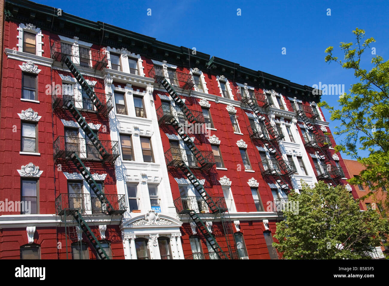 Apartments In Alphabet City, Downtown Manhattan, New York City, New York,  United States Of America, North America