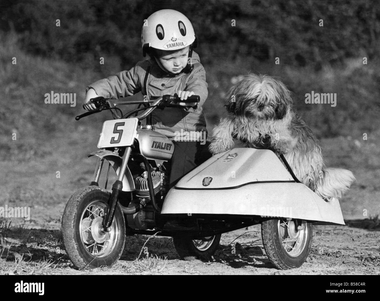 Vroom .. A ton up kid: Motor-bike kid Jason may be small but he\'s ...
