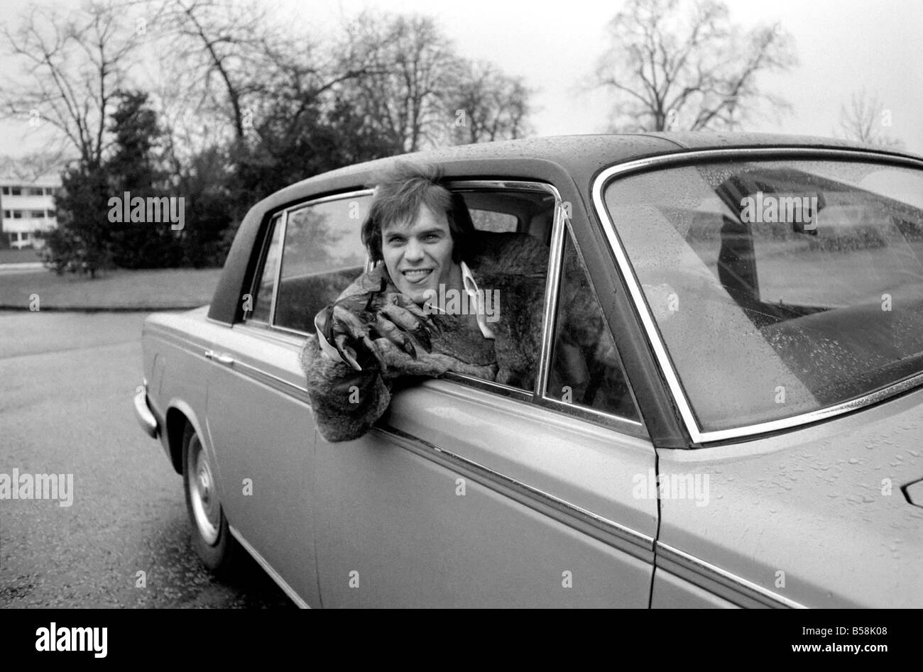 Humour Comedy Car Comedian Freddie Starr March 1975 75 01555