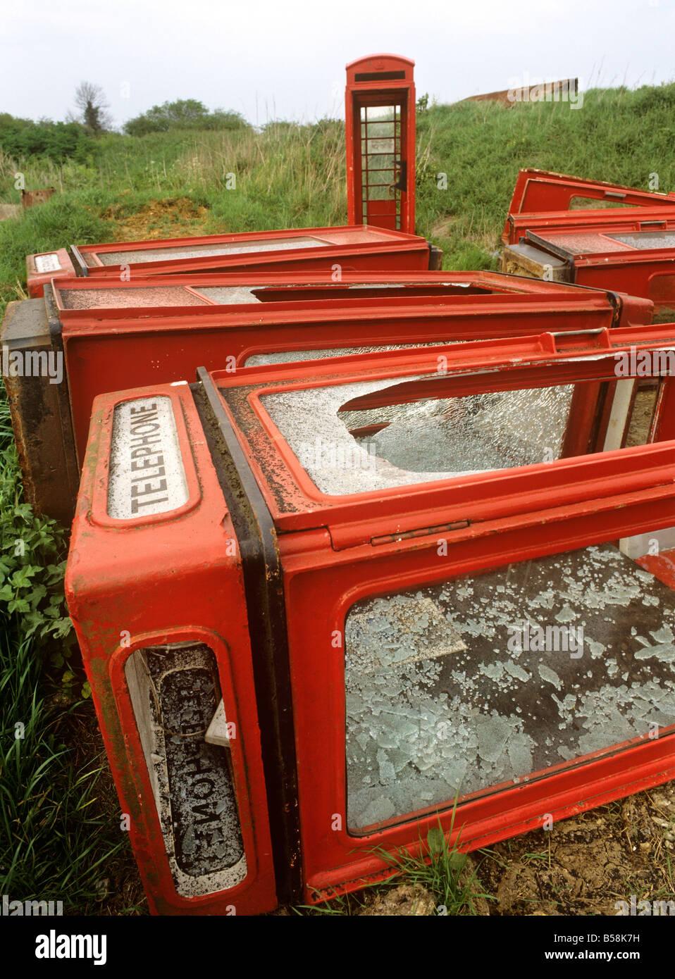 uk england essex fyfield redundant k8 and k6 phoneboxes
