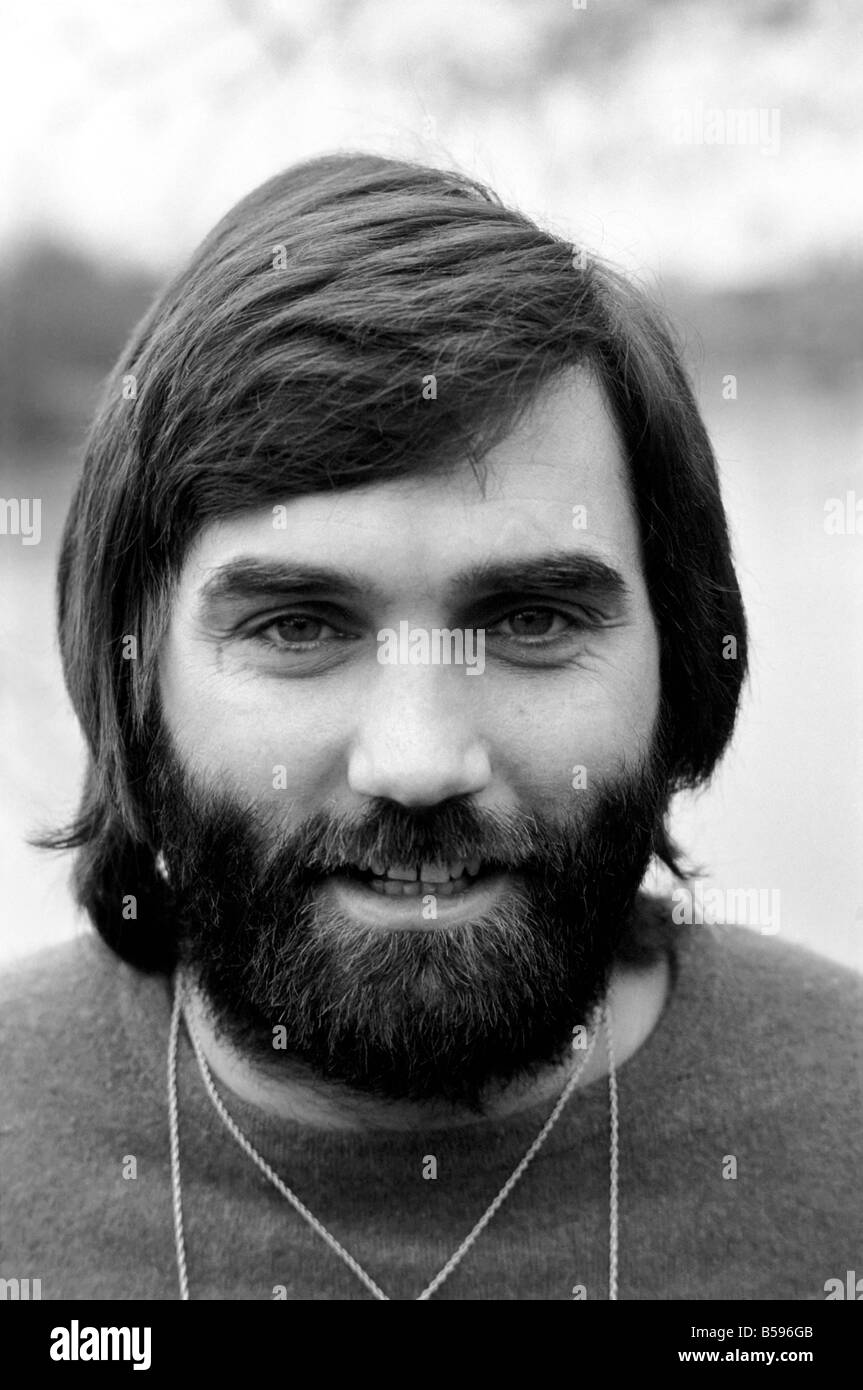 George Best Footballer George Best at the Bray home of Michael
