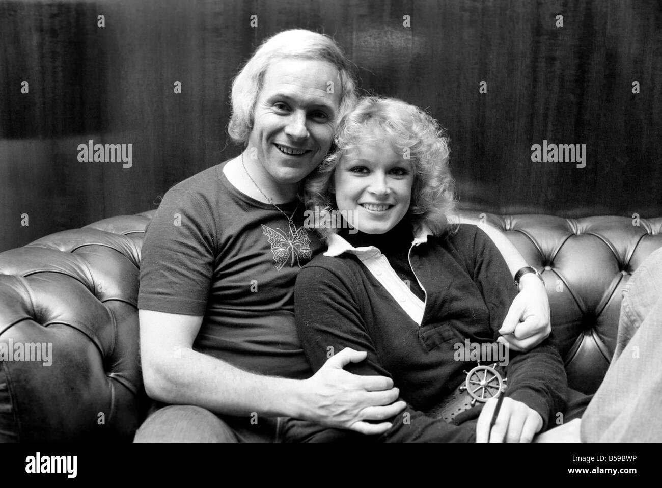 david hamilton D.J. David Hamilton (33) and girlfriend Angela Downing (21). April 1975