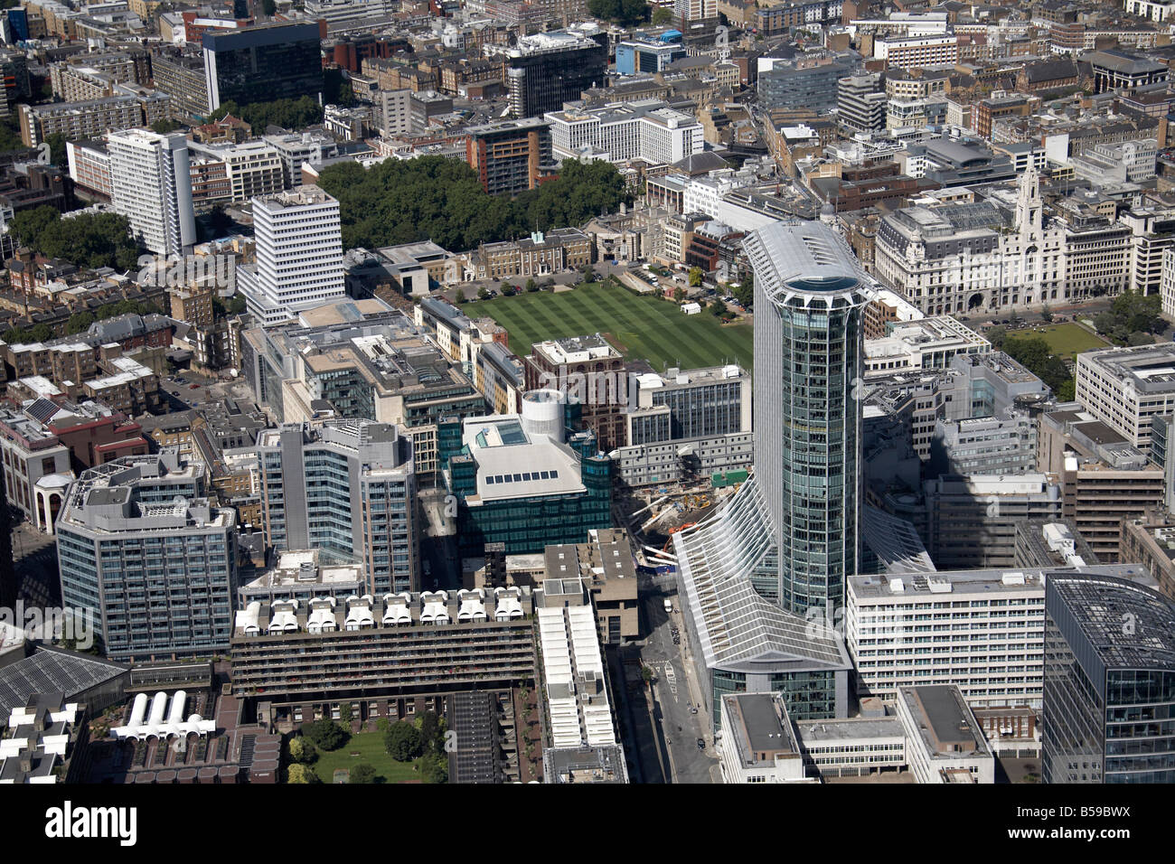 Aerial View North East Of Hac Royal Artillery Gardens Inner City Stock Photo Royalty Free Image