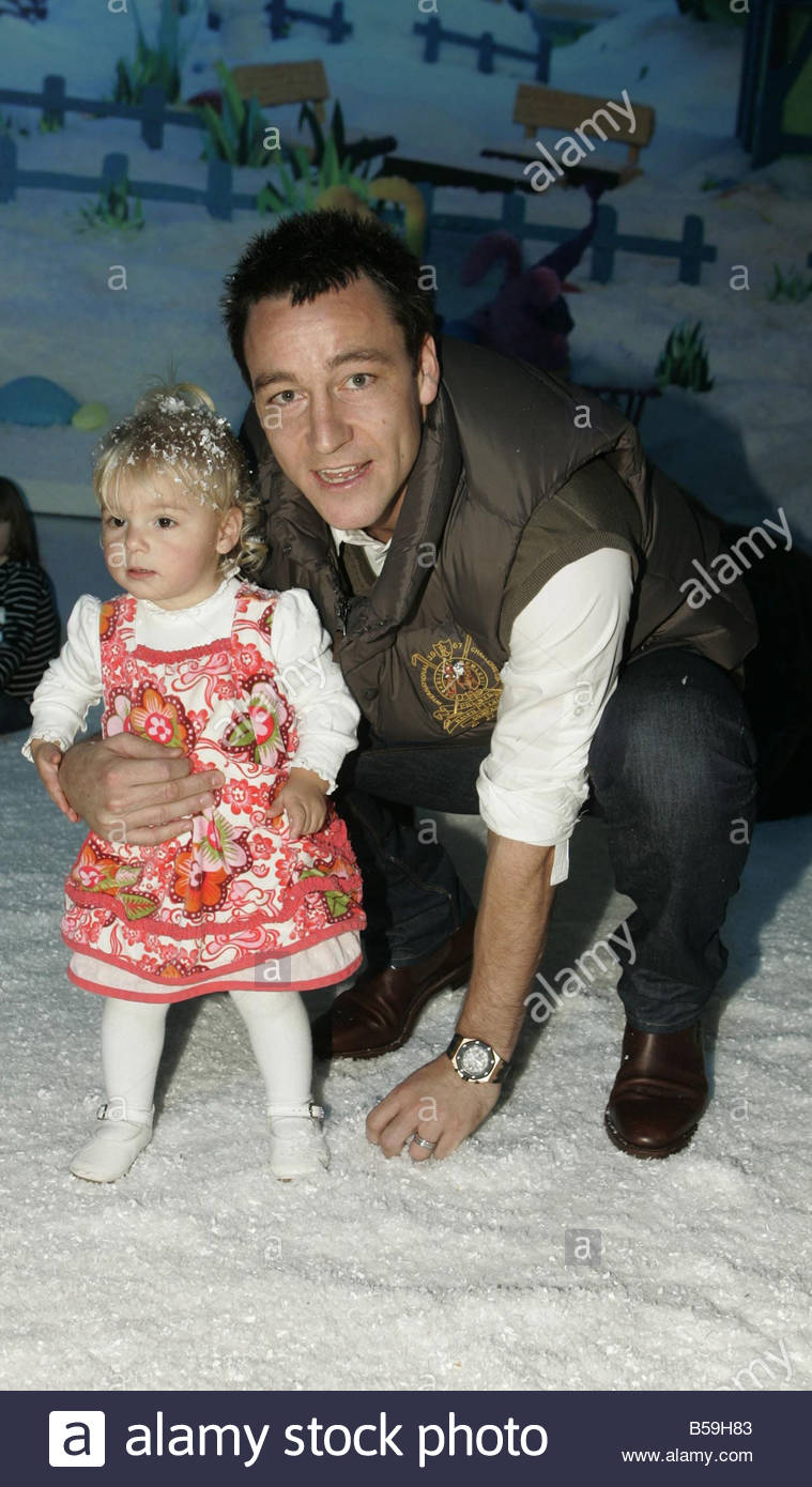 john terry and daughter were amog stars who turned out for