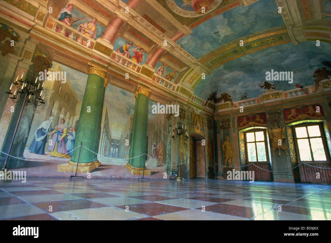 Schloss Hellbrunn Stock Photos & Schloss Hellbrunn Stock Images