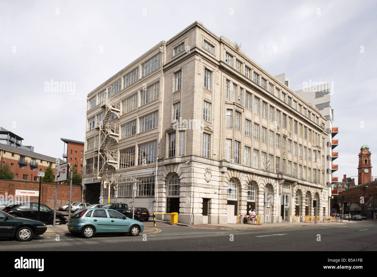 Barclay House In Manchester Uk Stock Photo Royalty Free