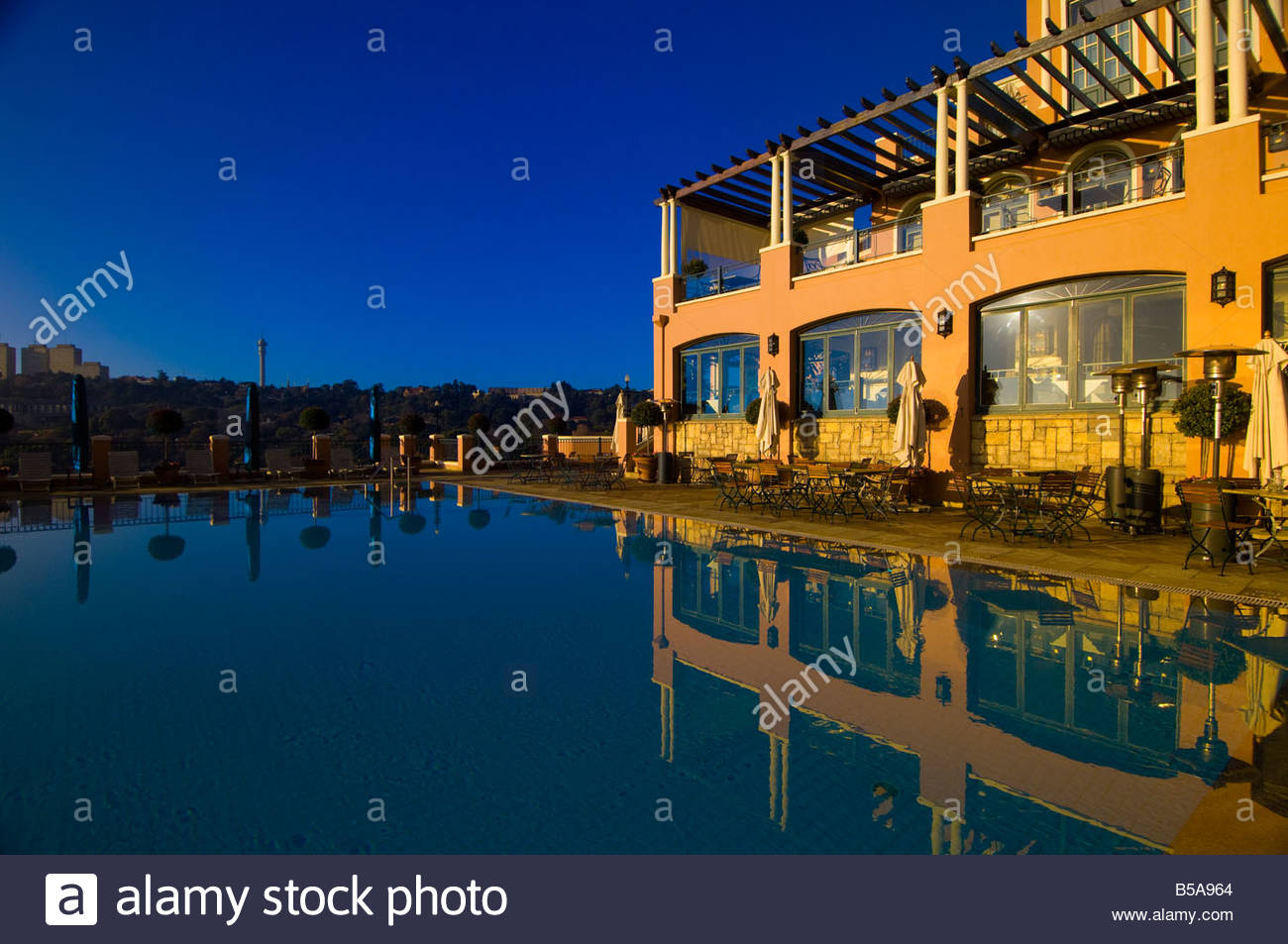 Swimming Pool The Westcliff Hotel Johannesburg South Africa Stock Photo Royalty Free Image