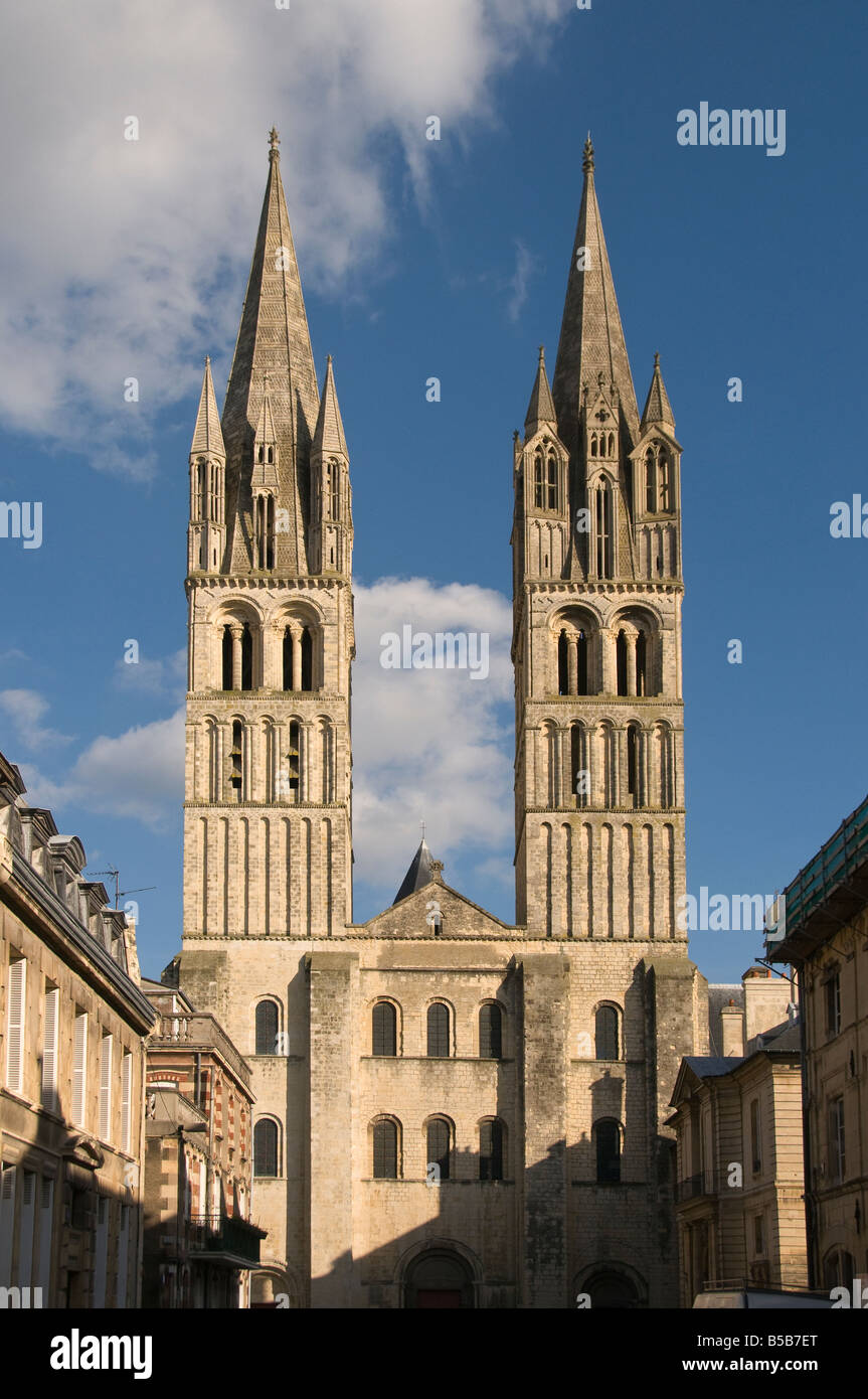 elk204 cn16 france caen abbaye aux hommes 11th 13th c st etienne stock photo royalty free image. Black Bedroom Furniture Sets. Home Design Ideas