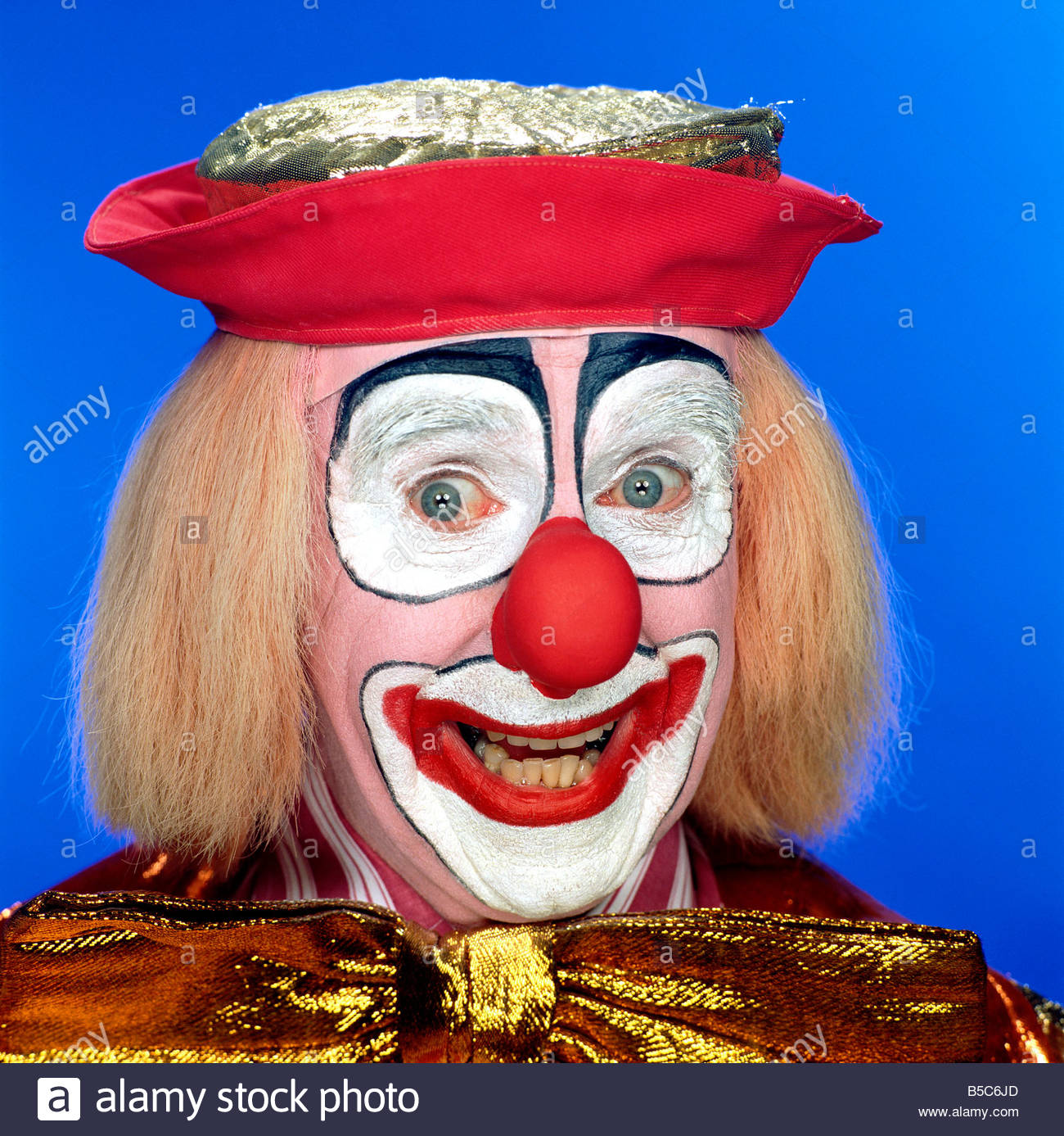 A happy clowns face Stock Photo: 20552293 - Alamy Happy Clown Pictures
