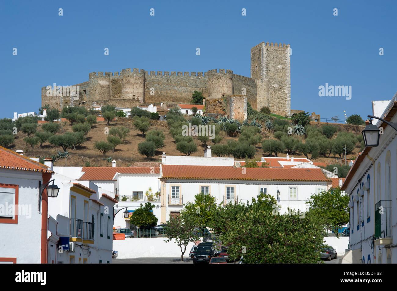 portugal the alentejo portel castle near evora