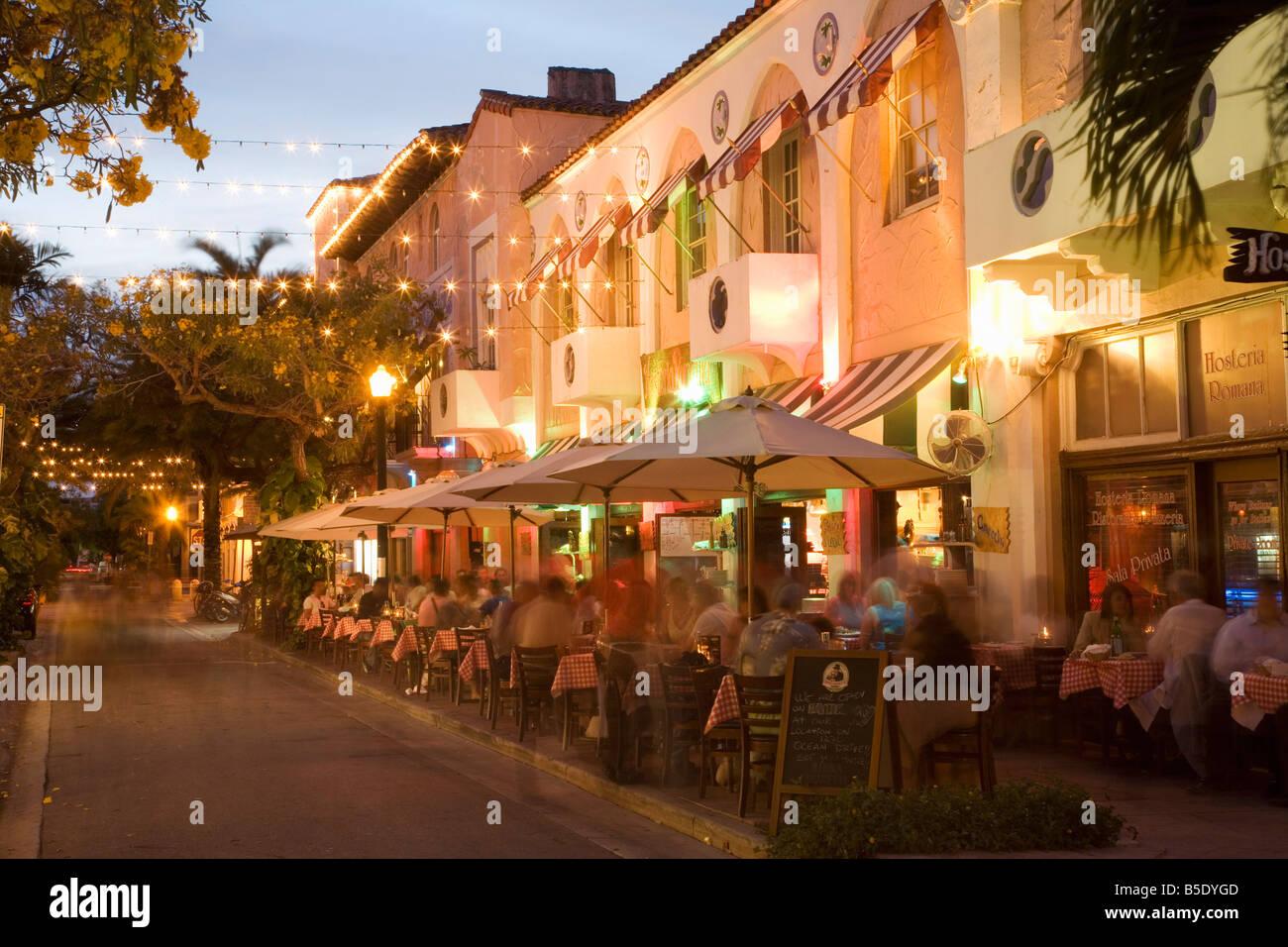 Espanola Way Miami Beach Florida