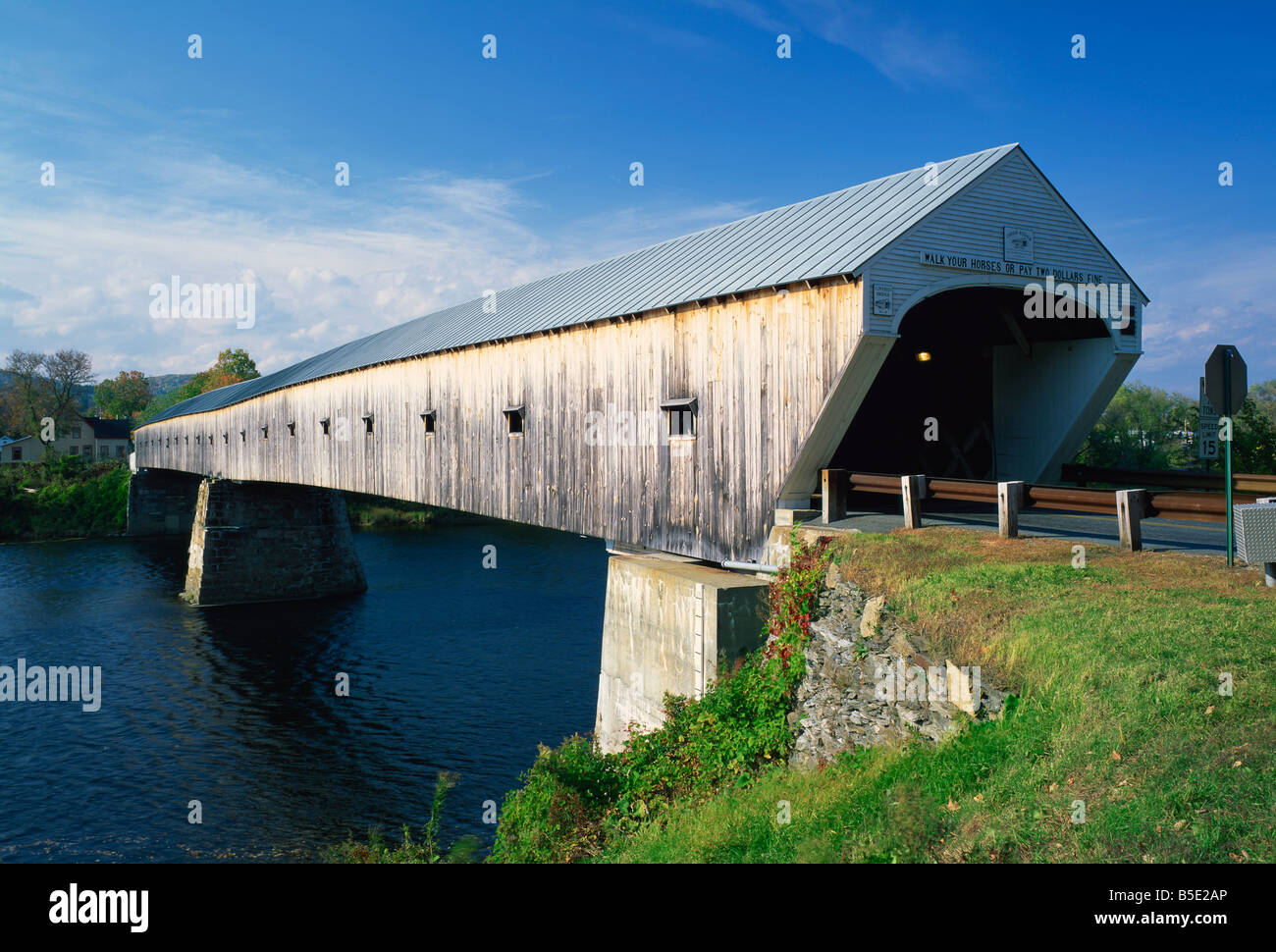 The Cornish Windsor Bridge The Longest Covered Bridge In The USA - Longest bridge in the usa