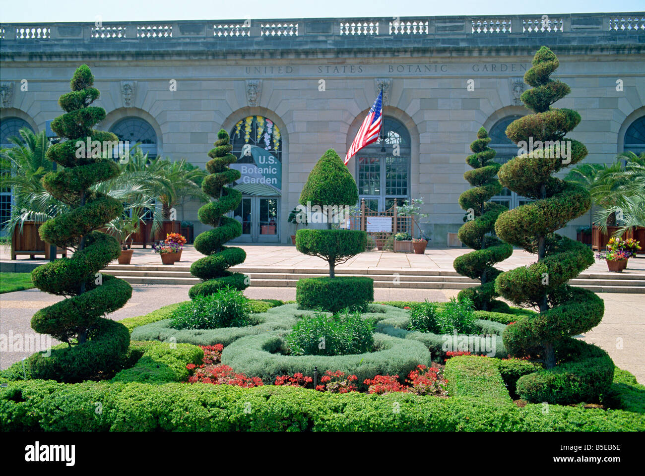 Topiary In The United States Botanic Gardens In Washington DC USA J Hodson