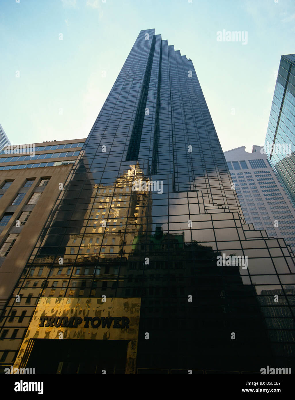 Trump Tower New York City New York United States Of