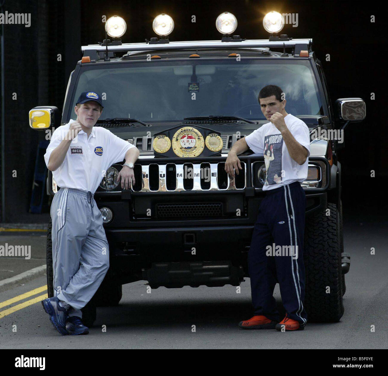 photo of Ricky Hatton Humvee - car