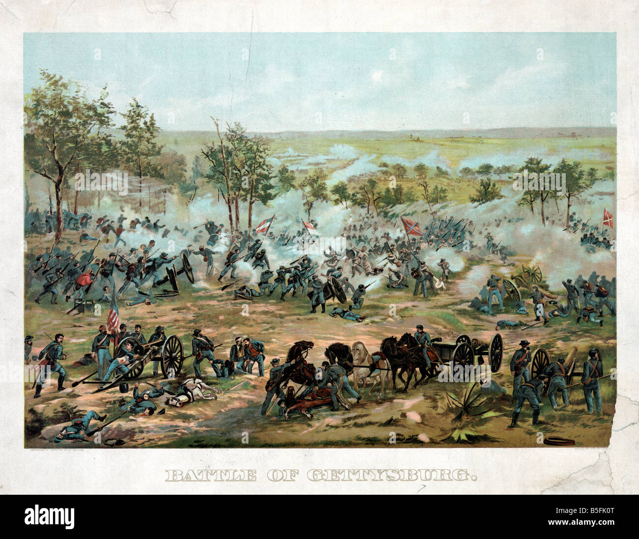 the relevance of the battle of gettysburg in the american civil war The battle of gettysburg, fought from july 1 to july 3, 1863, is considered the most important engagement of the american civil war after a great victory over union forces at chancellorsville .