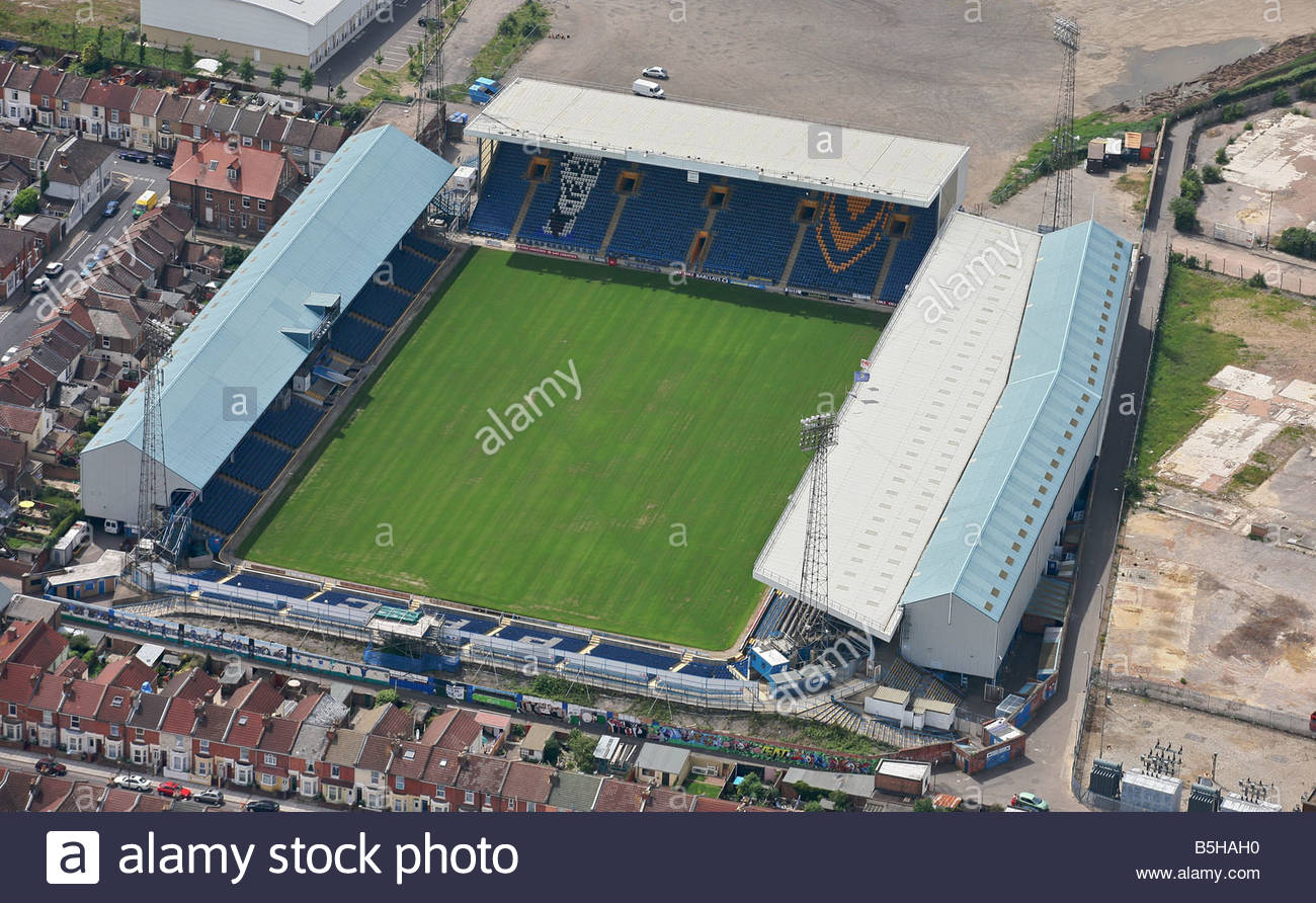 Fratton Park Is The Home Stadium Of Portsmouth F C And Situated In English City Port