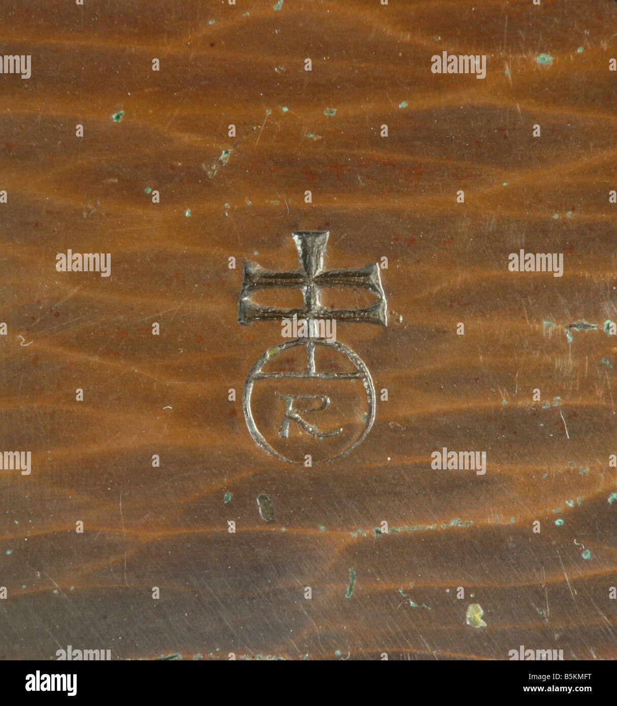 Early 20th century roycroft cross and orb mark on copper stock early 20th century roycroft cross and orb mark on copper buycottarizona Image collections
