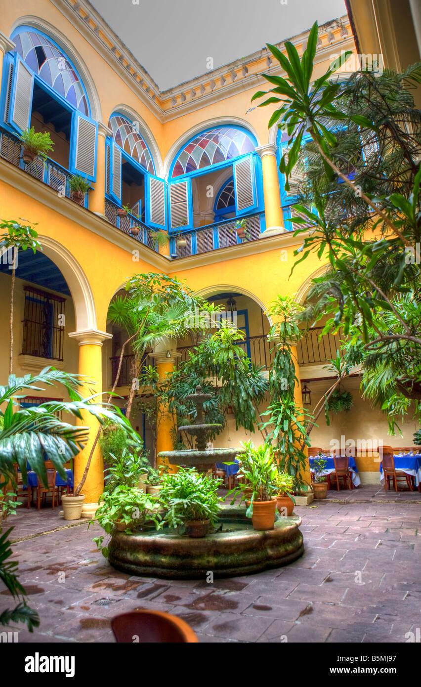 Restaurant El Patio Old Havana Cuba