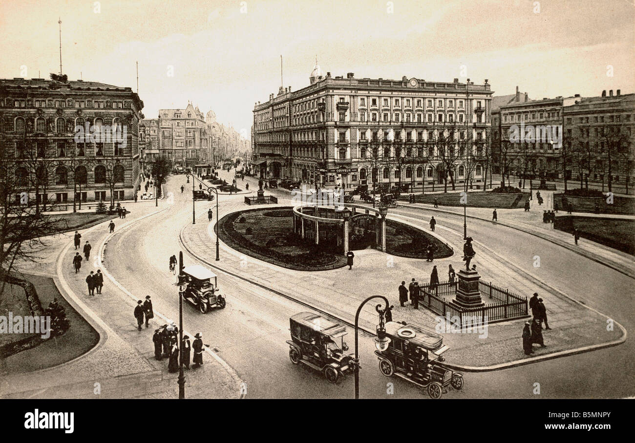 5 b1 d16 1915 e berlin wilhelmplatz photo c 1914 berlin mitte stock photo royalty free image. Black Bedroom Furniture Sets. Home Design Ideas
