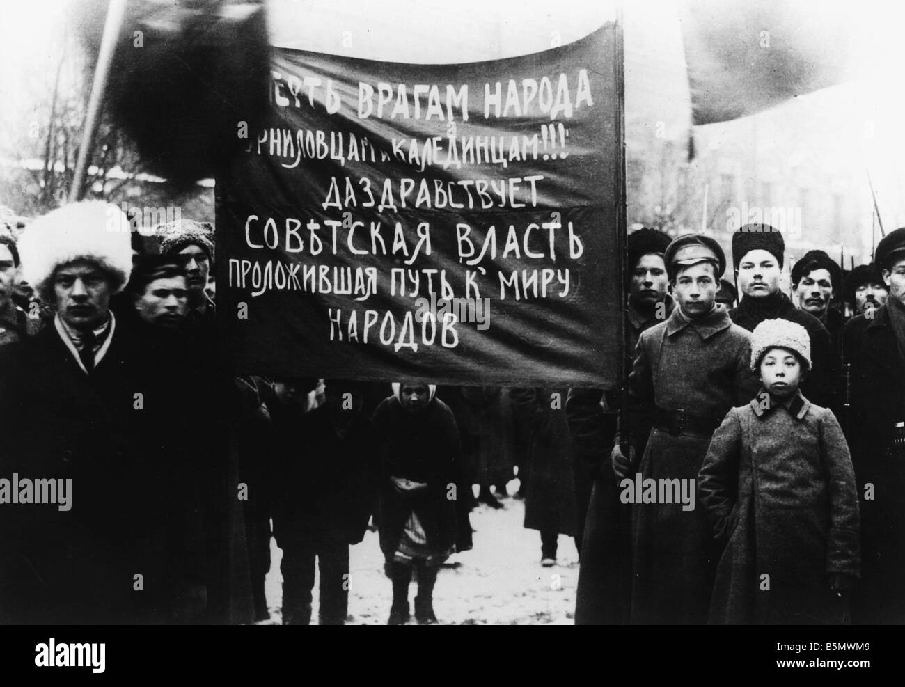 October Revolution 1917 Stock Photos & October Revolution 1917 ...