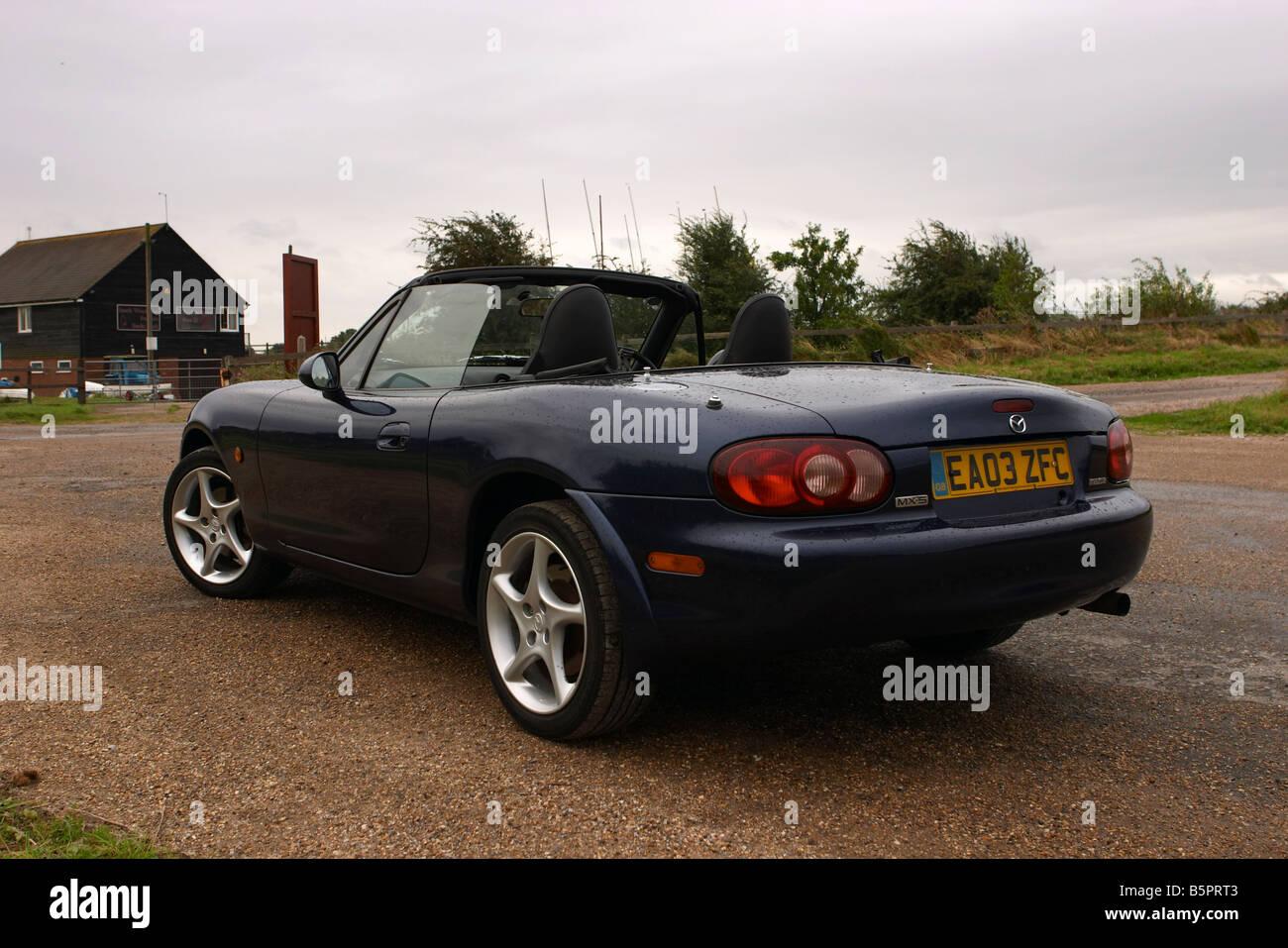 mazda mx5 mk2 5 svt sport dark blue car colour image. Black Bedroom Furniture Sets. Home Design Ideas