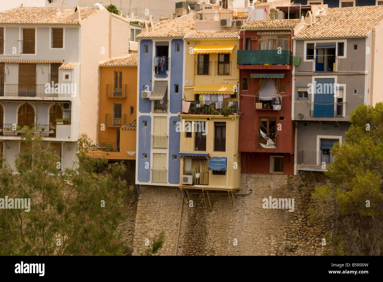 Coloured houses villajoyosa spain spanish moorish houses for Moorish homes
