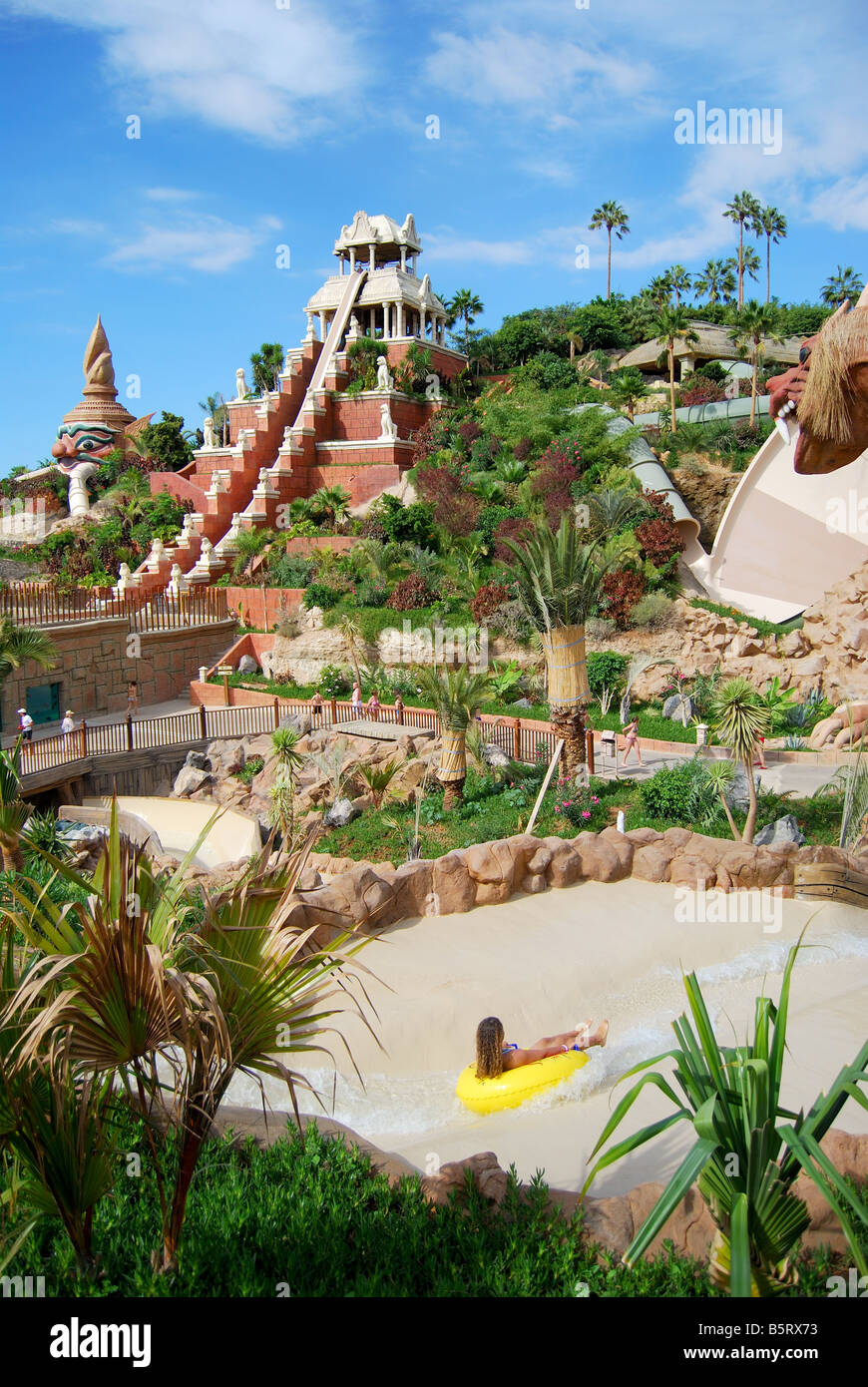 Tower of Power ride, Siam Park Water Kingdom Theme Park ...