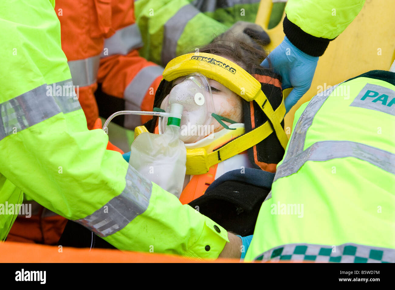 Road traffic accident simulation at local college aiming to deliver ...