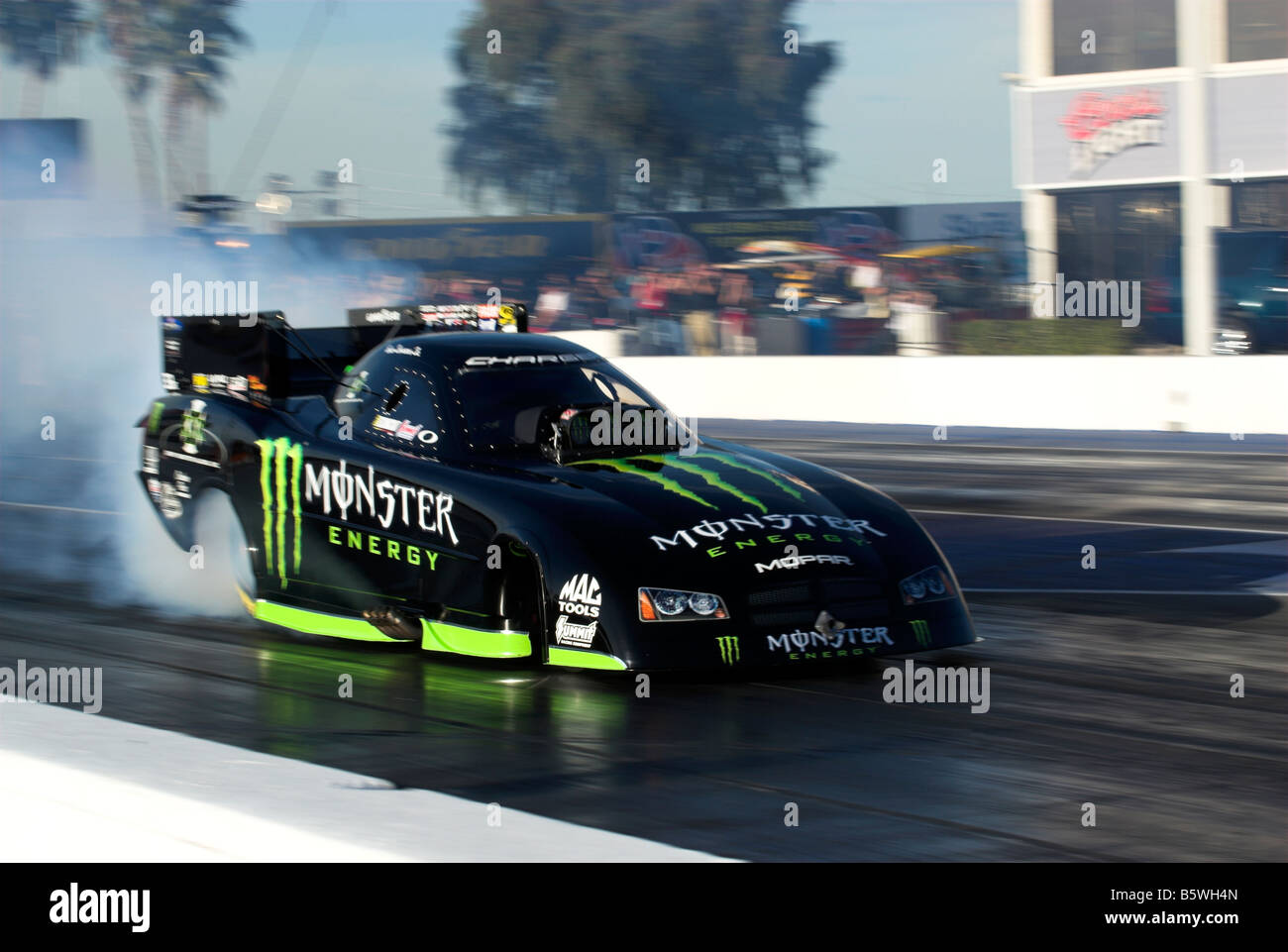During the second round of eliminations of the NHRA Arizona Nationals, living legend John Force would suffer a massive engine explosion before losing control and crashing with opponent Jonnie Lindberg.