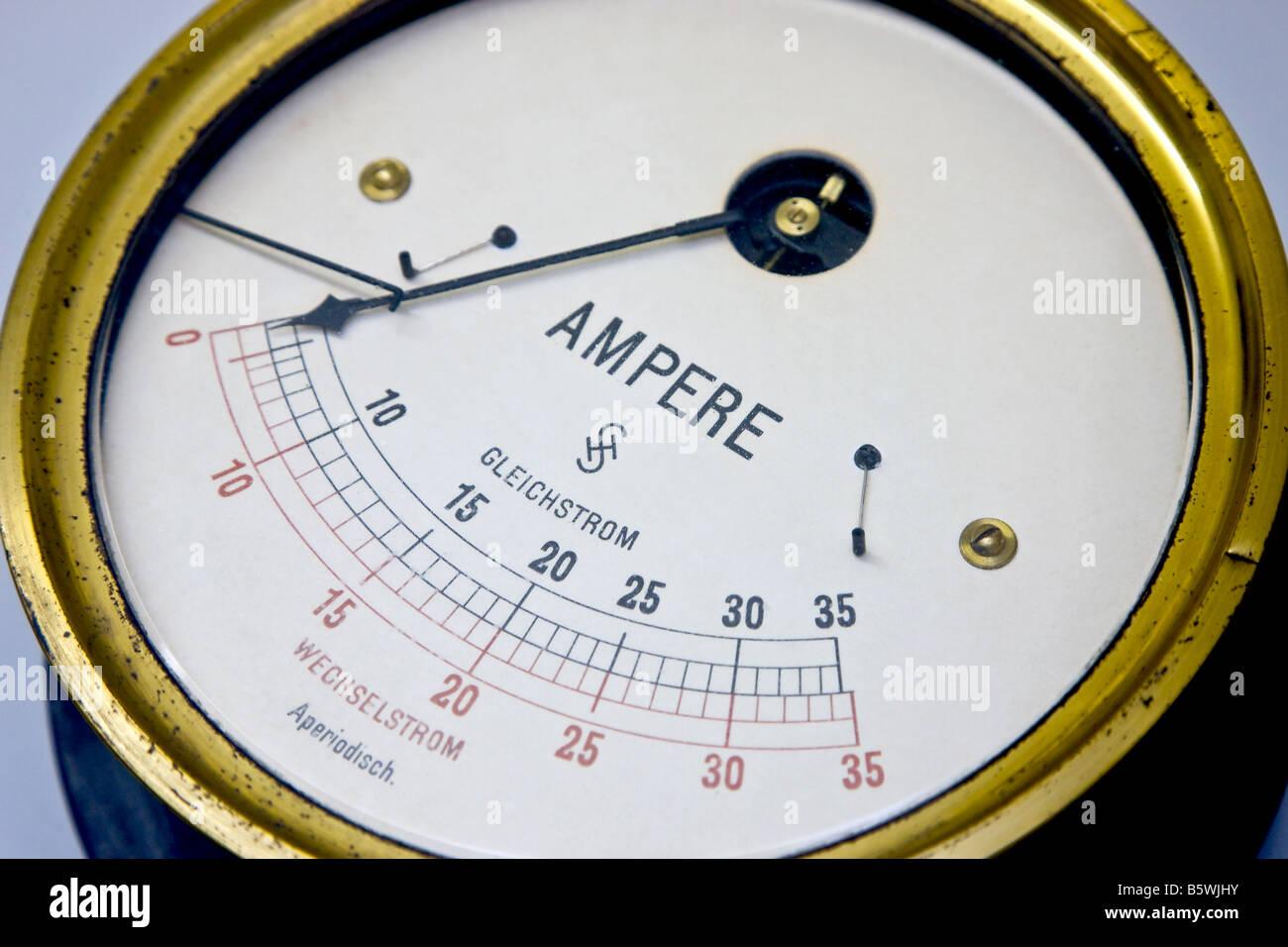 Ziemlich Elektrische Drahtstärke Amperemeter Ideen - Schaltplan ...