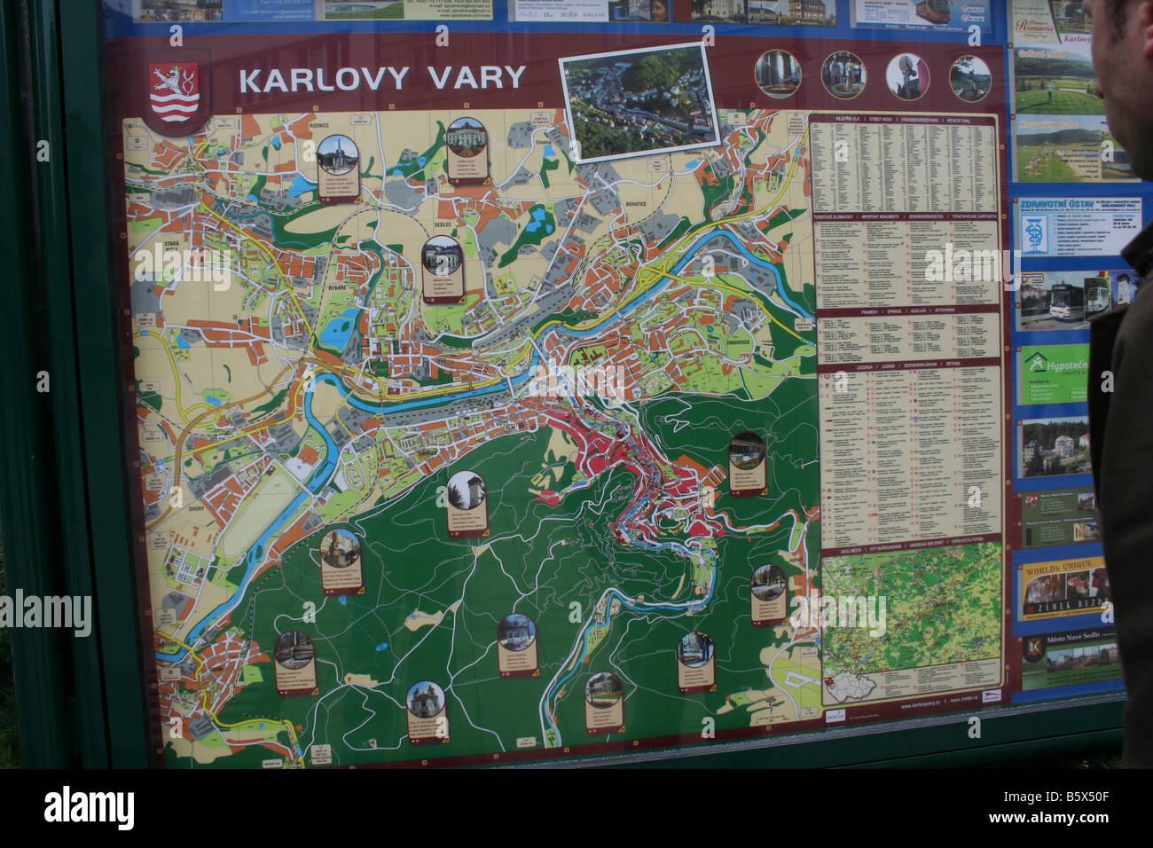 karlovy vary map tourist - photo #5