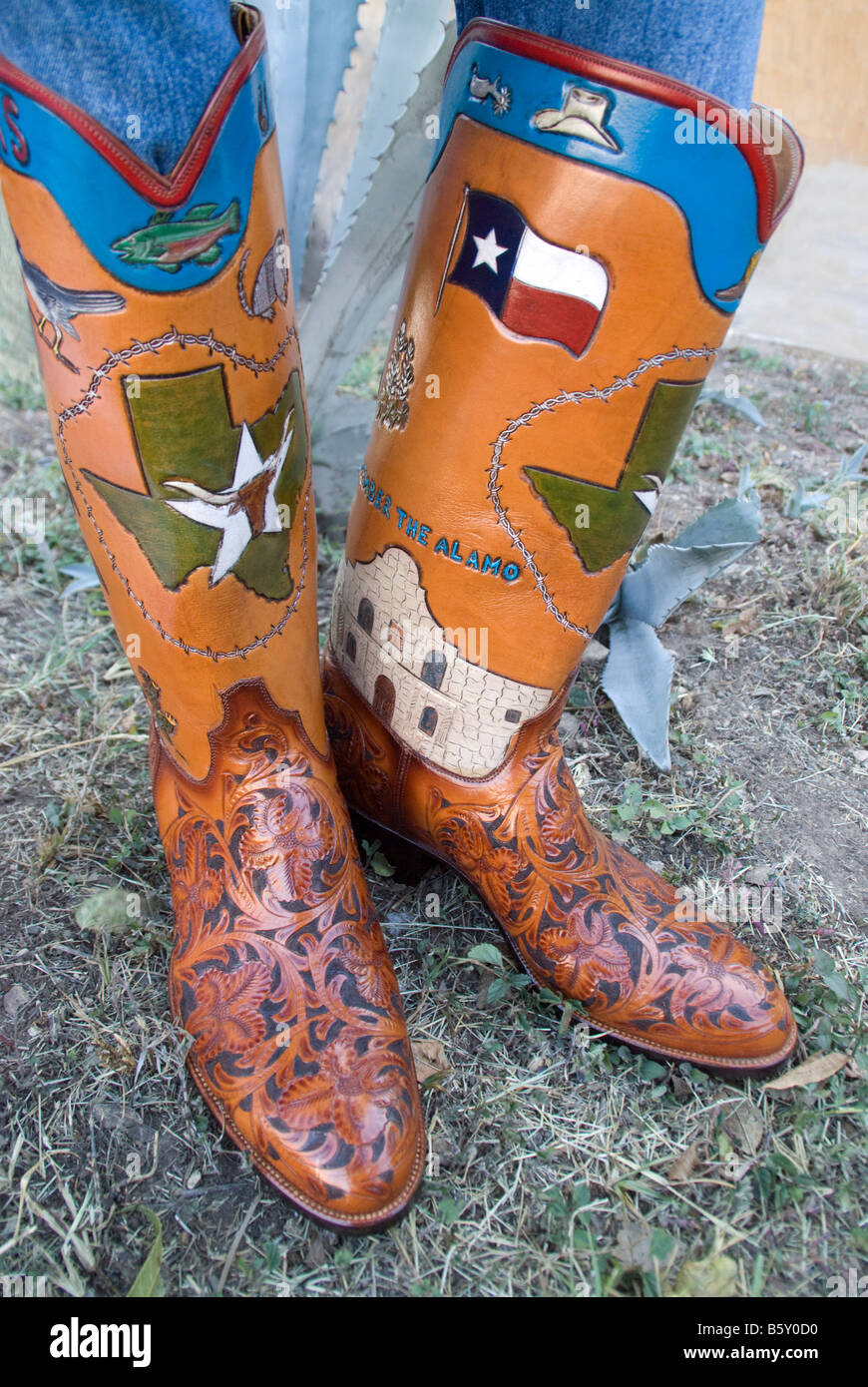 Texas Custom Made Cowboy Boots From Little's Boot Company Of San ...