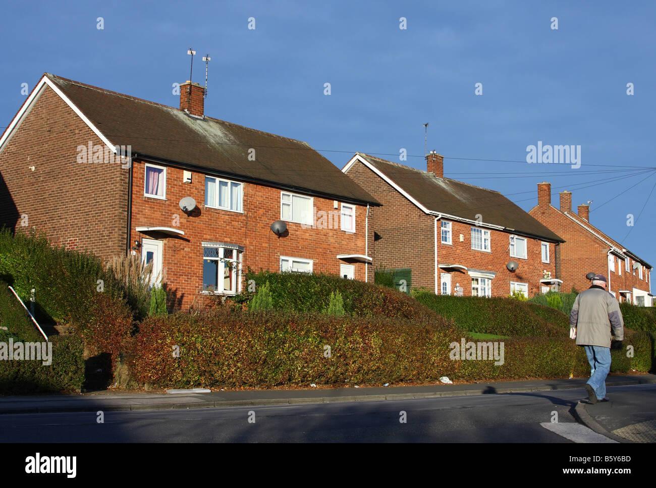 ^ ouncil Houses On Beckhampton oad, Bestwood, Nottingham, ngland ...