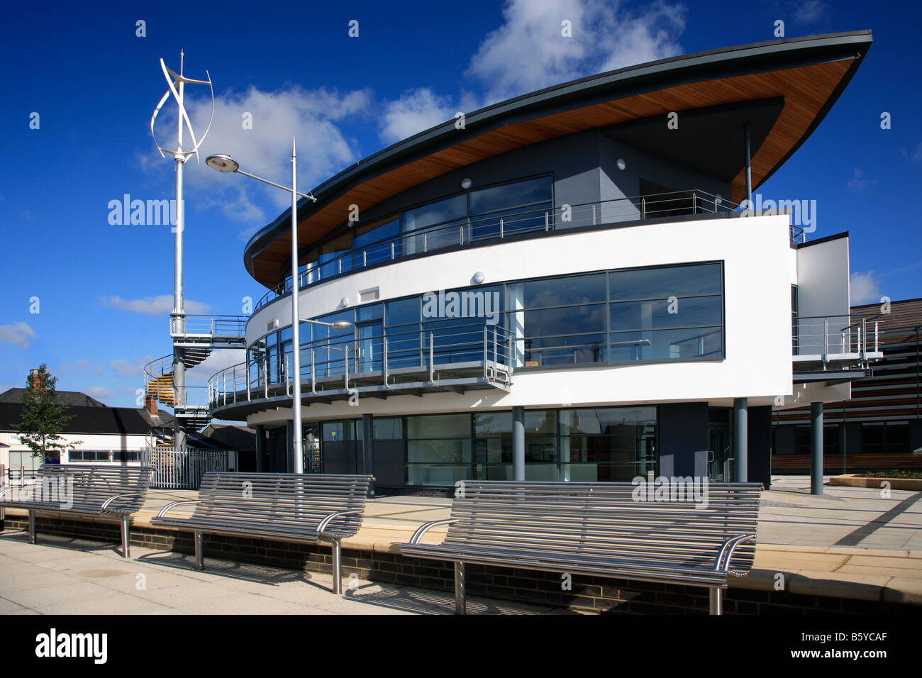 Modern Architecture Uk the new modern architecture boat house centre wisbech town docks
