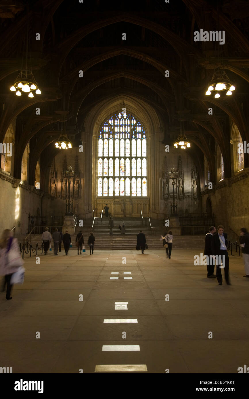 Interior Of Westminster Hall, Houses Of Parliament, Westminster. London UK.  (44