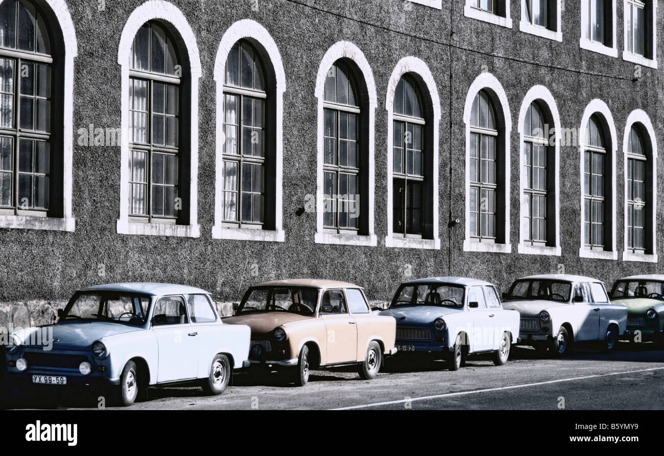 Dictatorship symbols stock photos dictatorship symbols stock east germany gdr row of trabant cars outside factory stock image biocorpaavc