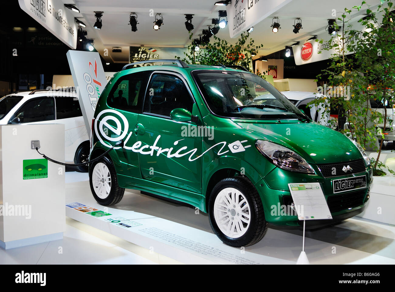 Paris France French Electric Car Microcar Model 2009 X Too R By