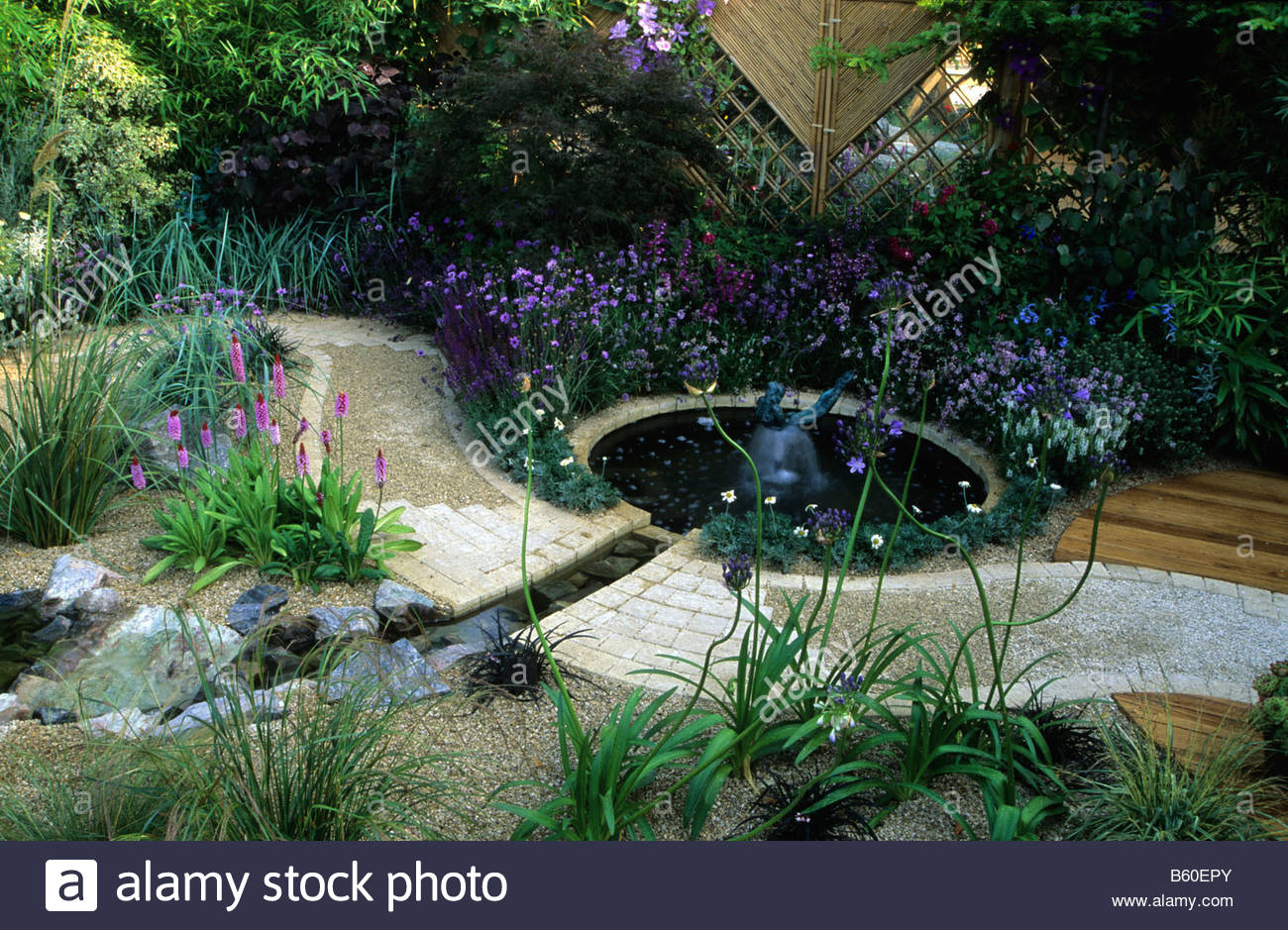 Feng shui garden london design pamela woods cool colour for Feng shui garden designs