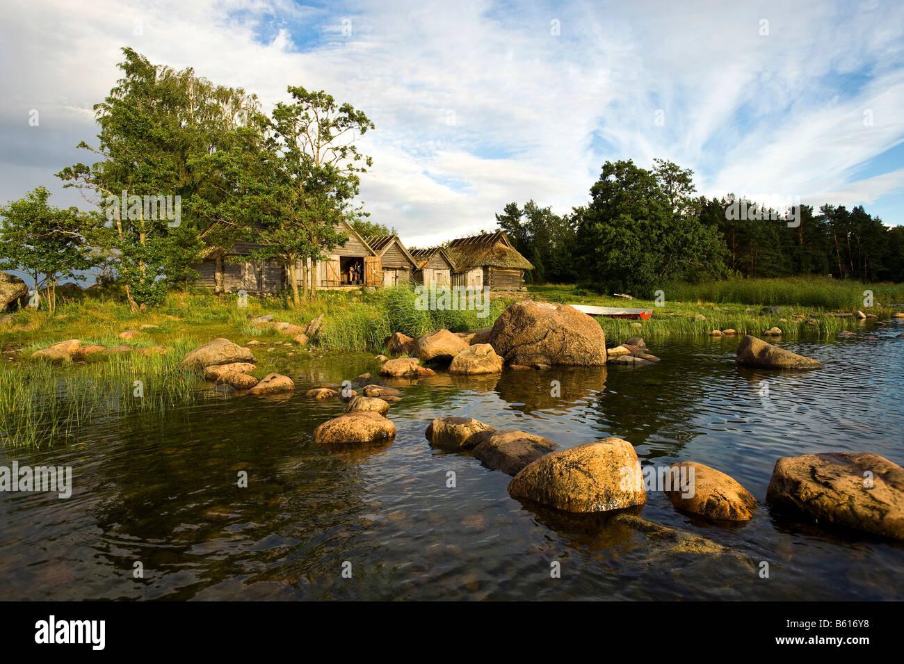 Fishing village altja lahemaa national park estonia baltic states northeastern europe