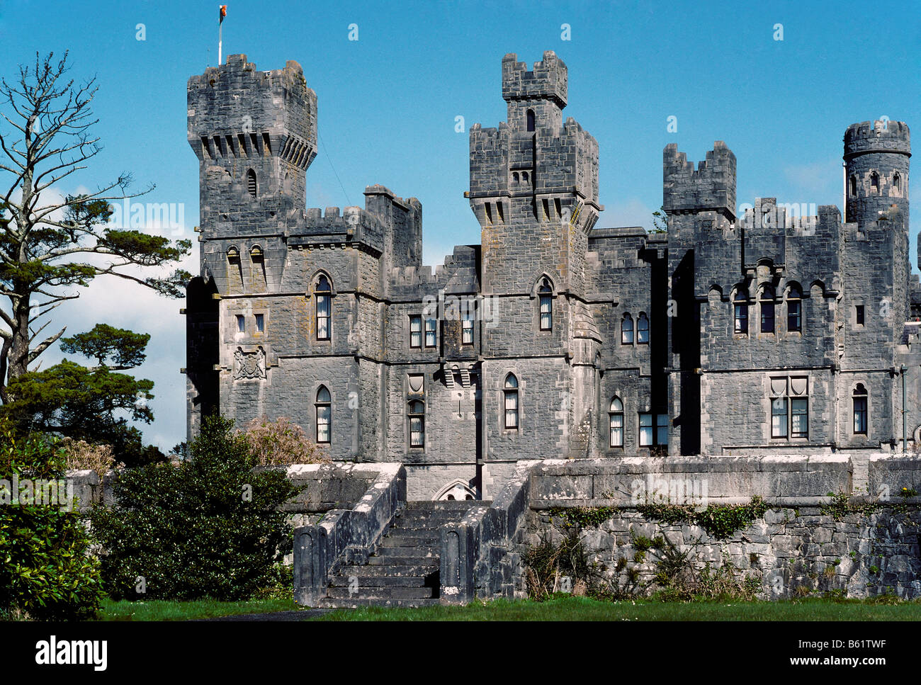 Ashford Castle, Castle Hotel On Lough Corrib, County Mayo, Ireland, Europe