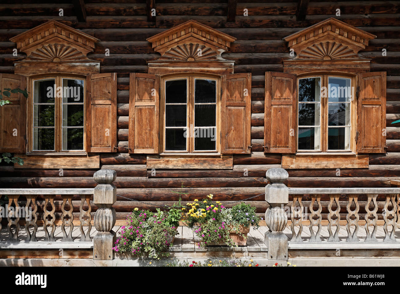 Traditional russian style houses